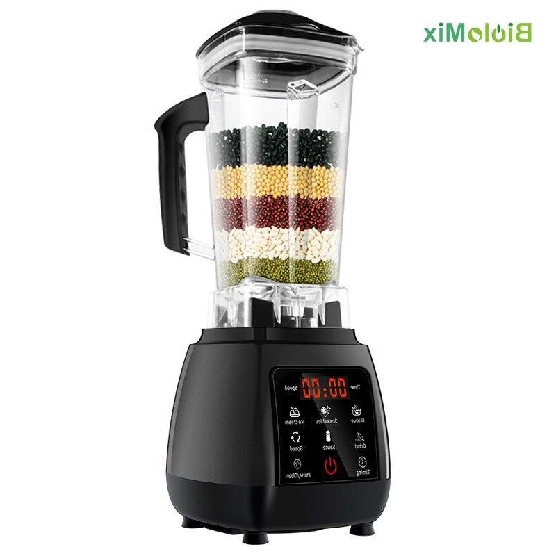 Digital Touchscreen 3HP Preset Automatic Power Mixer Food Fruit