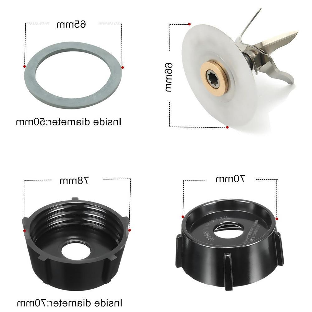 <font><b>Oster</b></font> <font><b>Blender</b></font> Replacement Cutter & Sealing Rubber & Bottom Base