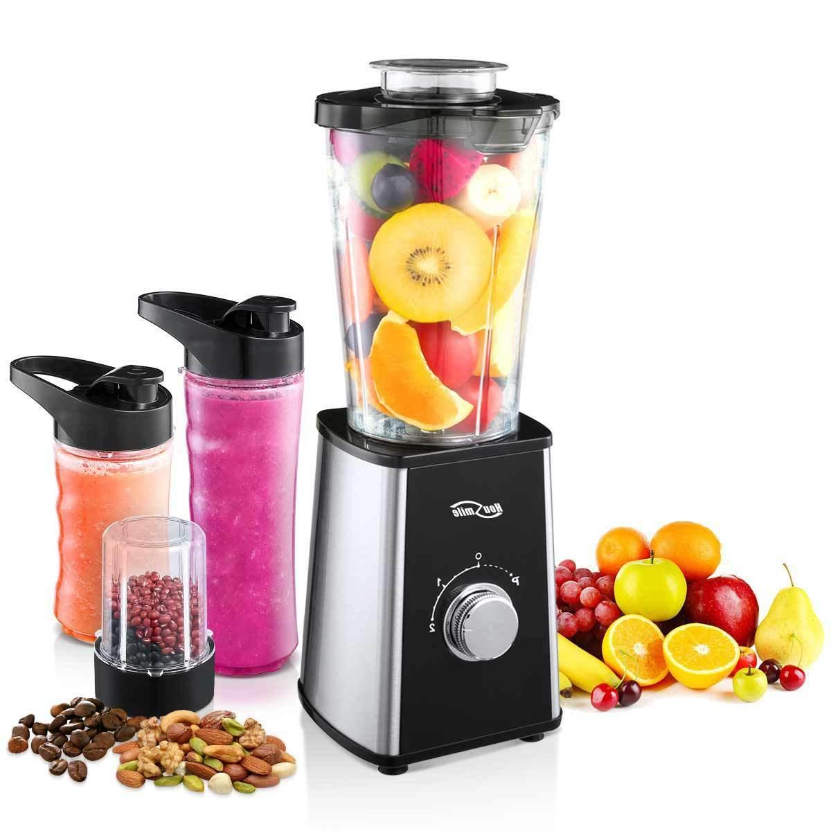 food juice blender with travel lid