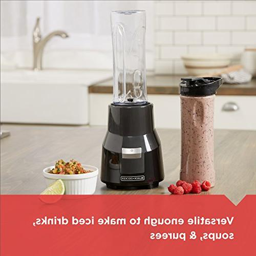 BLACK+DECKER Personal with Two 20oz Blending