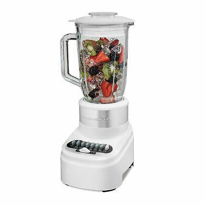 glass jar blender white 54217