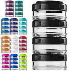 Blender Bottle GoStak 40cc 4Pak Twist n' Lock Storage Jars