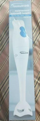 2 Speed Hand Blender in White