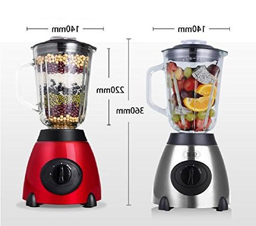 W&lx Household glass Juice extractor grinder And