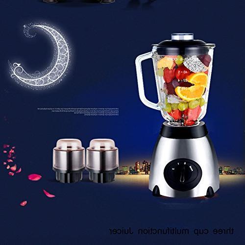household glass mixer juice extractor