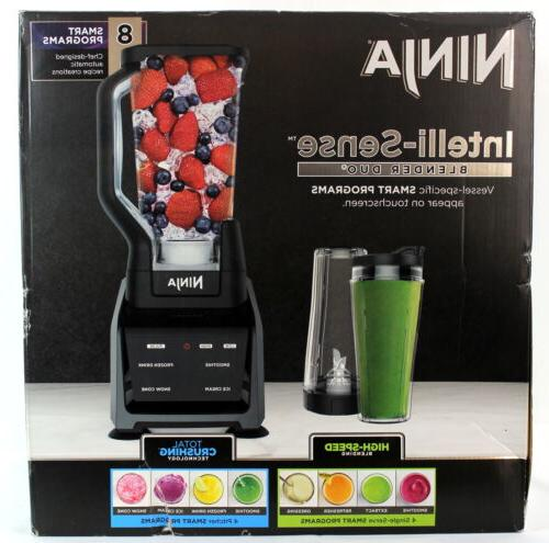 Ninja Intelli-Sense Blender Duo 64 Oz Max Liquid Capacity-N.