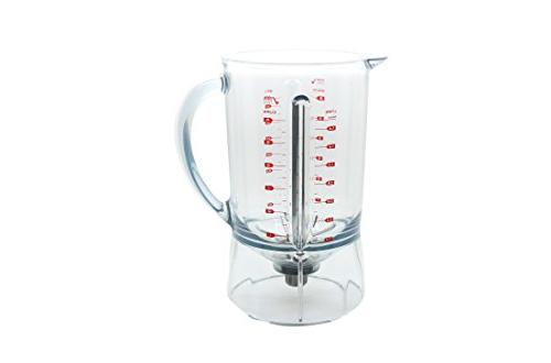 Breville Jar BBL605XL, copolyester a and bowl bowl minimizes food traps makes for easy cleaning