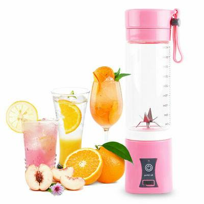 Juicer Portable USB Rechargeable Juice Blender And 400ML