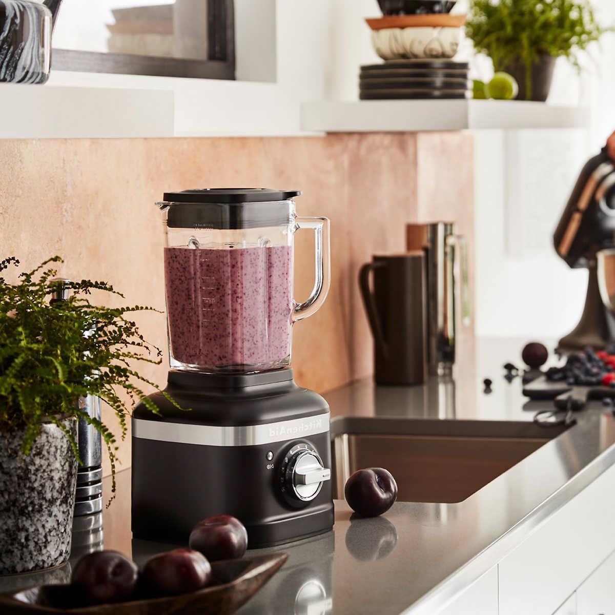 KitchenAid Blender with Personal Jar Black Color