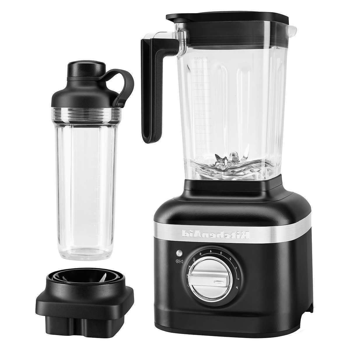 k400 blender with personal blender jar black