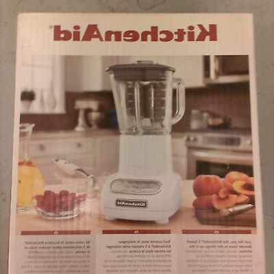 Kitchen Aid - 5-Speed  Blender with  Glass Pitcher-Colours-