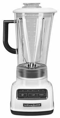 KitchenAid KSB1575WH 5-Speed Diamond Blender with 60-Ounce B