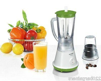 Panasonic NEW 220 Volt Blender Grinder Europe Asia UK Africa