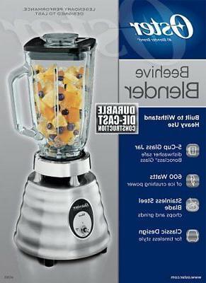 NEW Glass Jar Blender, Brushed Stainless