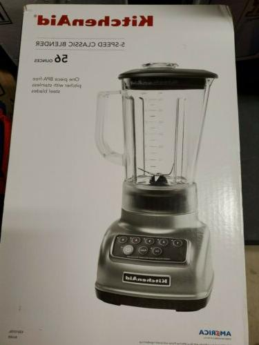 new ksb1570sl 5 speeds classic blender silver