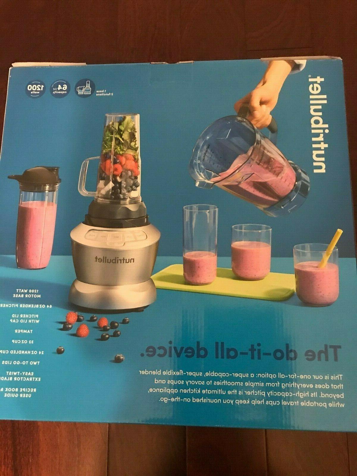 Magic NutriBullet® Blender with Serve - Silver
