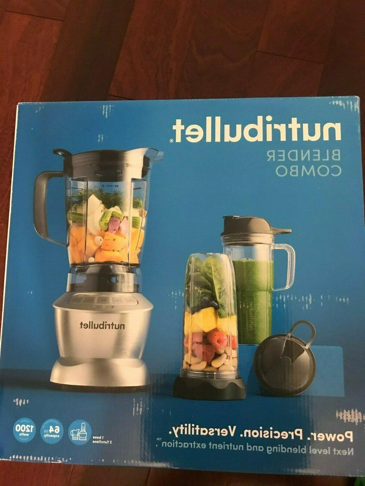 Magic Bullet Blender Combo with Single Serve Cups -