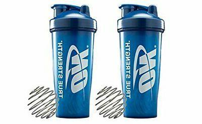 Optimum Blender Brand Shaker Value Pack Blue