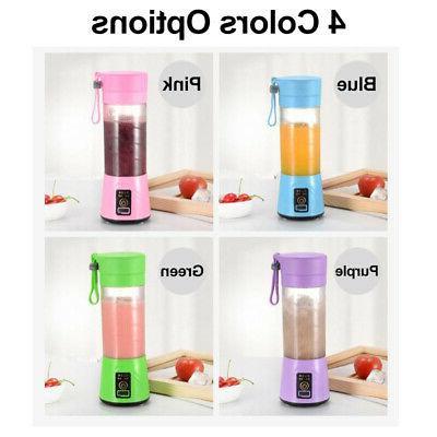 Portable 400ml Juice Blender Safety Juicer Multi Juice