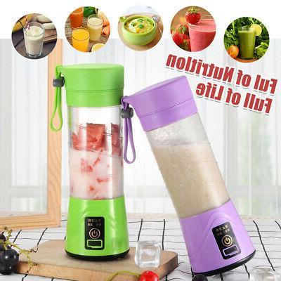 Portable Juice Blender Safety Cup Multi Fruit Juice