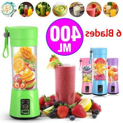 portable 400ml electric juice blender safety juicer