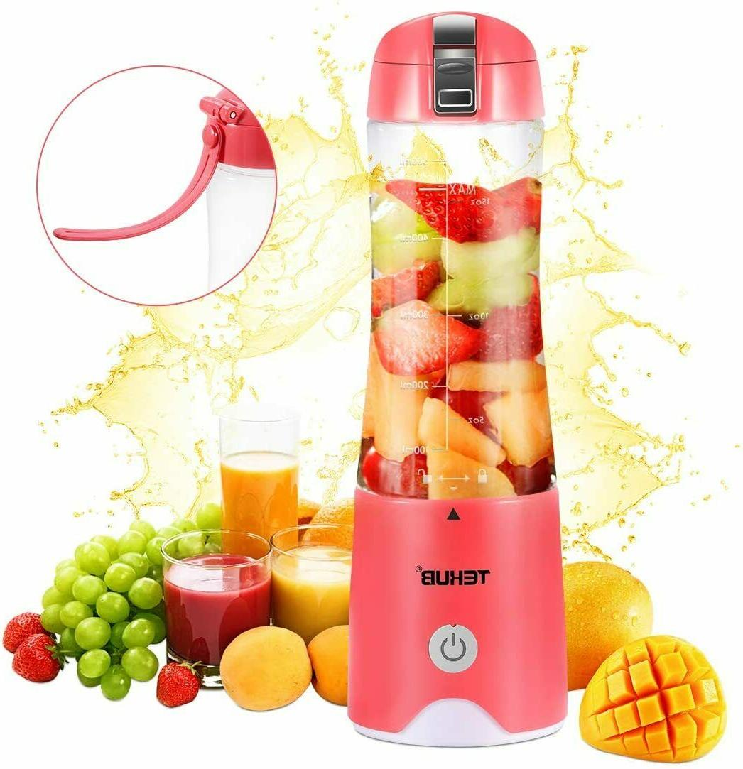 portable blender for shakes smoothies 490 ml