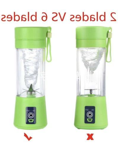 Portable Juicer, Blender. Rechargeable Free