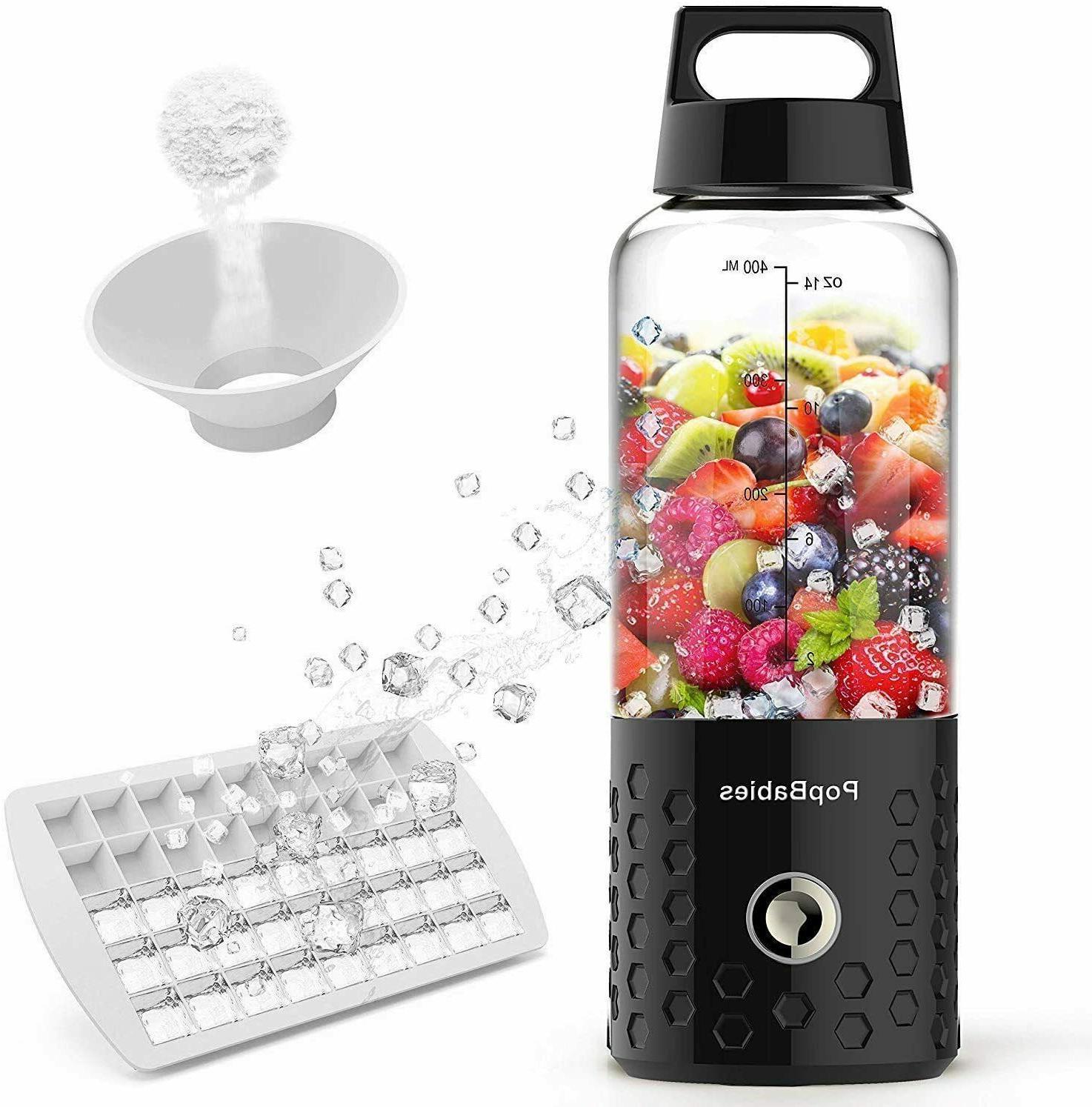 Portable Blender, Personal Blender, Smoothie Blender. Rechar