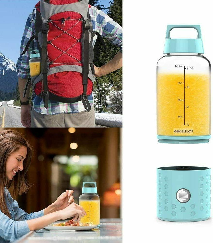 Portable PopBabies Personal Blender, USB, colors