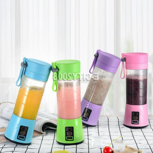 Electric Juicer Cup Mini Portable USB Rechargeable Juice Ble