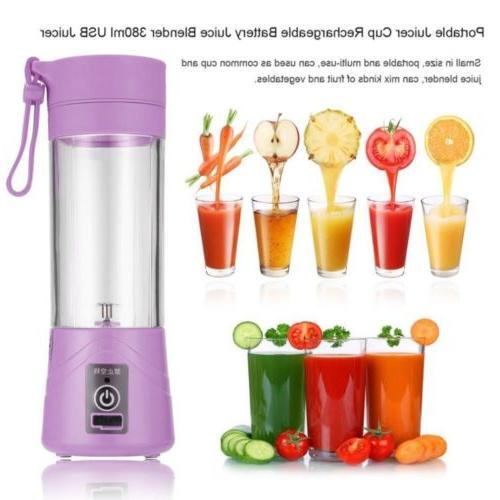 Portable Blender Rechargeable Bottle 380ML