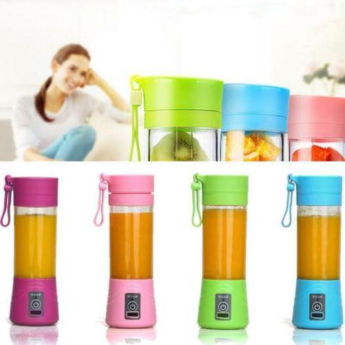 portable blender usb juicer cup fruit mixing