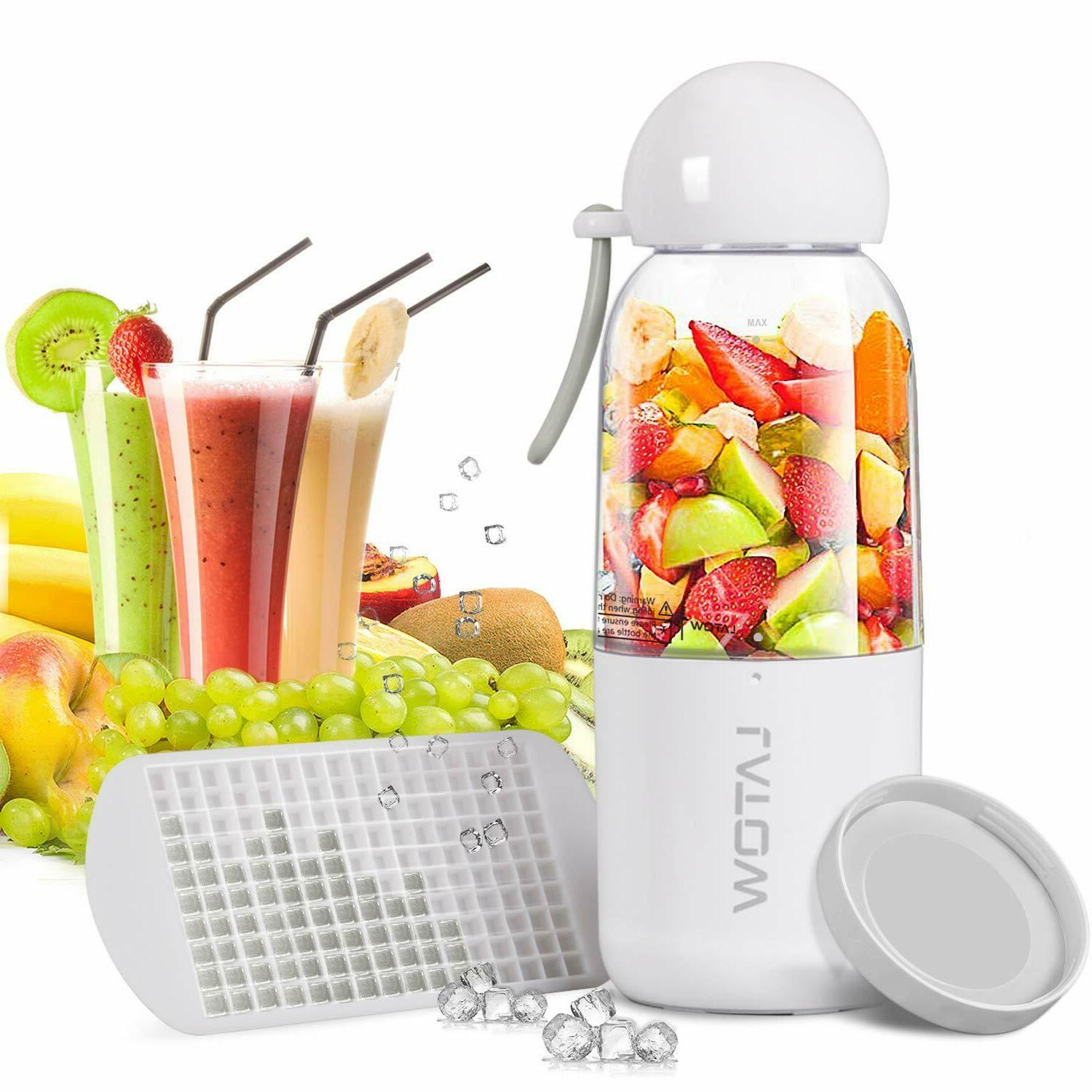 Portable Blender USB Juicer Cup Fruit Mixing Machine, Rechar