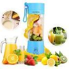 Portable Juicer Blender, Household Fruit Mixer - Six Blades