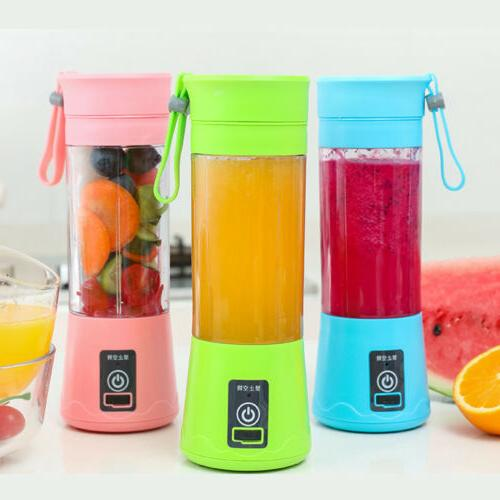 380ML NEW Portable Blender USB Rechargeable Fruit Cup