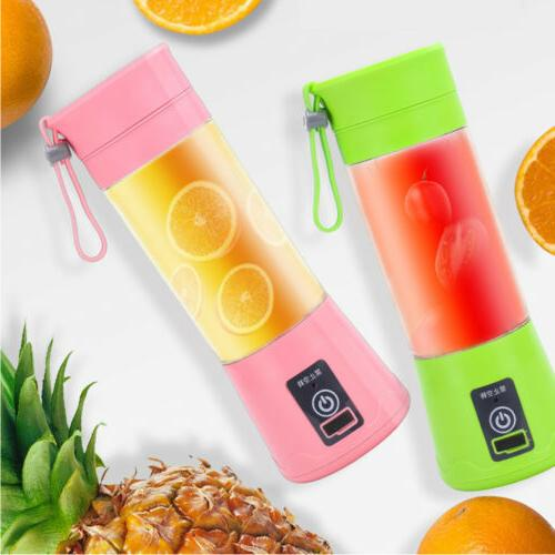 380ML Portable USB Rechargeable Fruit Cup