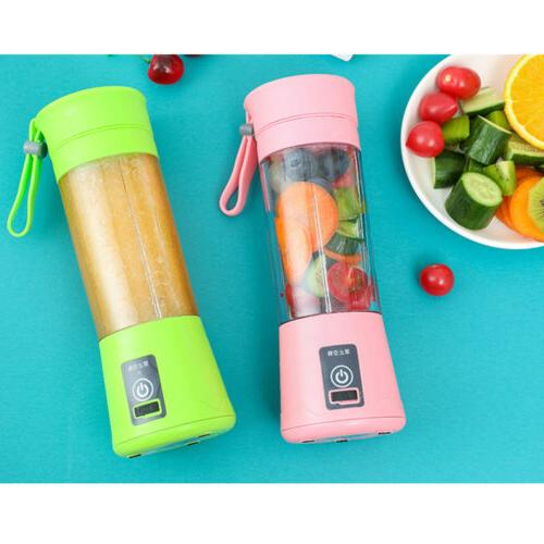 380ML USB Rechargeable Juicer Cup Mixer