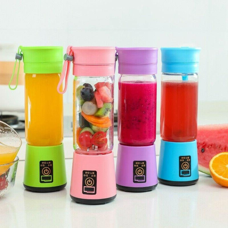 380ml One Portable Personal Blender Juicer Mix Blend Recharg