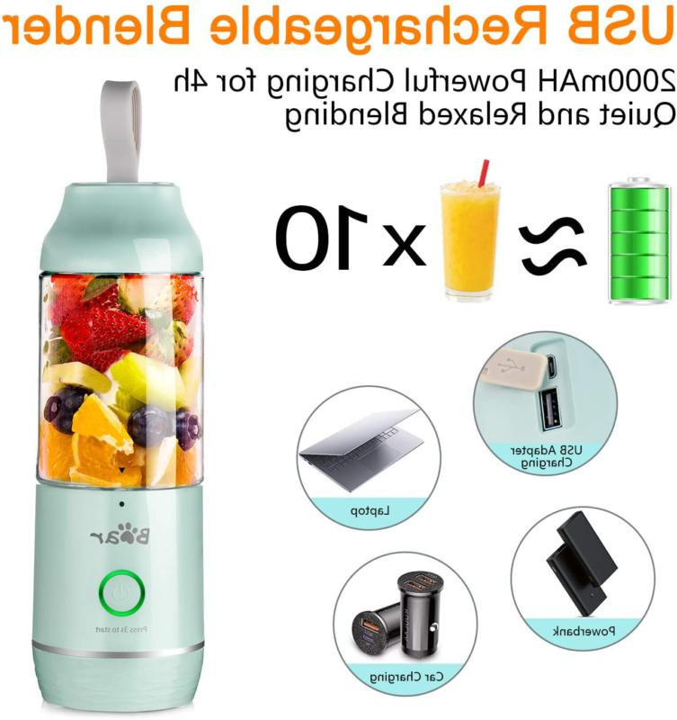 Portable Personal Blenders For Shakes Smoothies USB