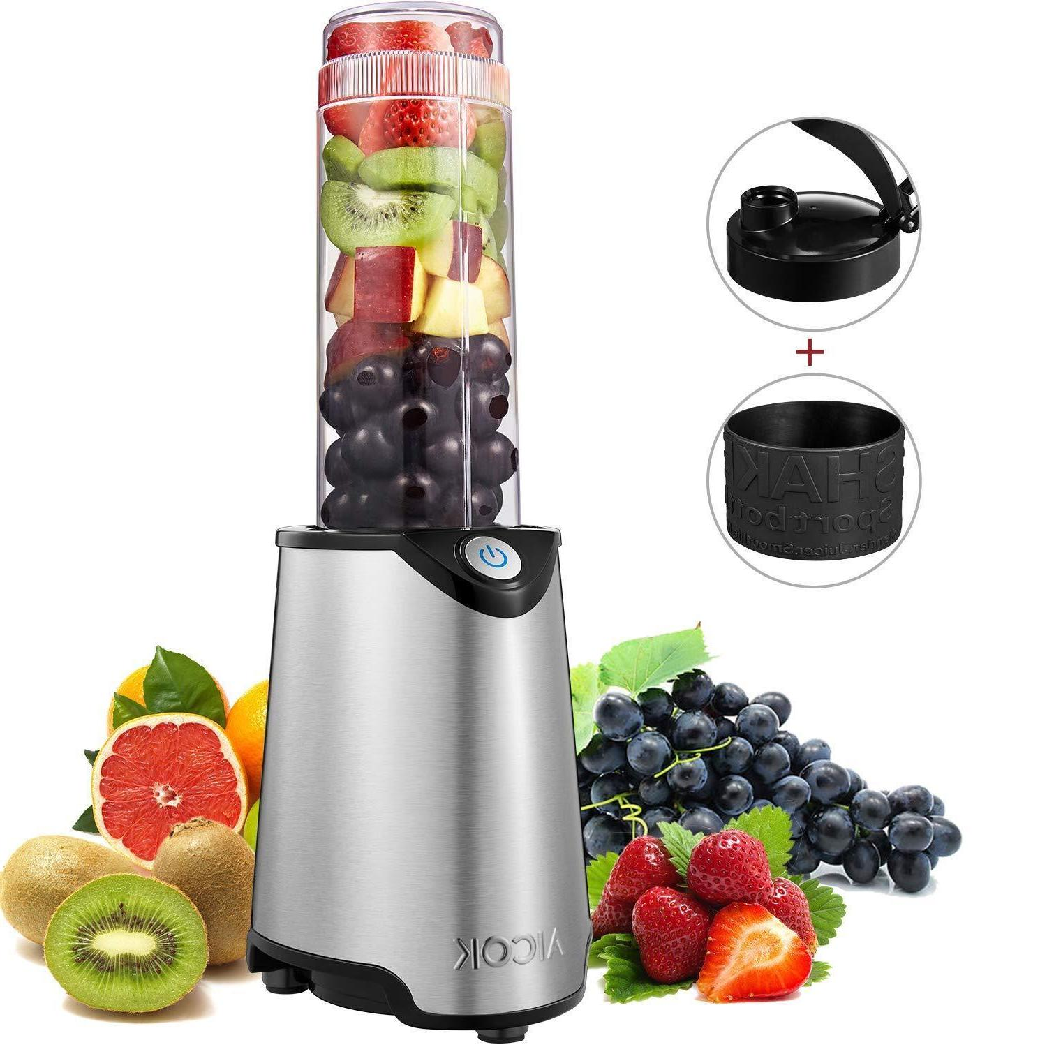portable travel 300w personal blender with 21