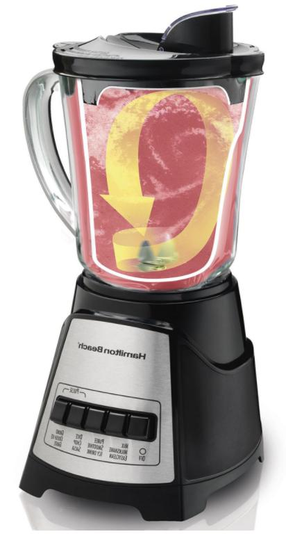 Power Elite Multi-Function Blender/Mixer Silver And Black Ch