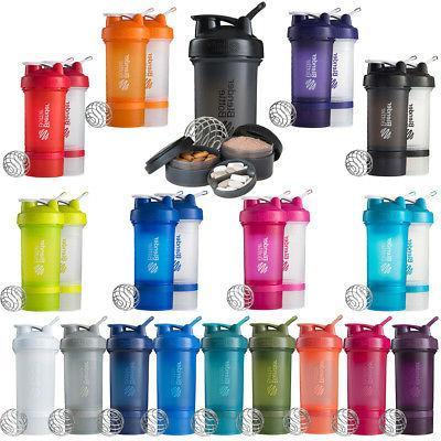 Blender Bottle ProStak System with 22 oz. Shaker and Twist N