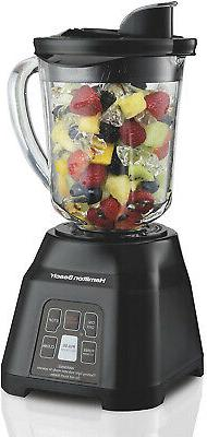 Hamilton Beach Smoothie Smart Blender with 40 oz Glass Jar a