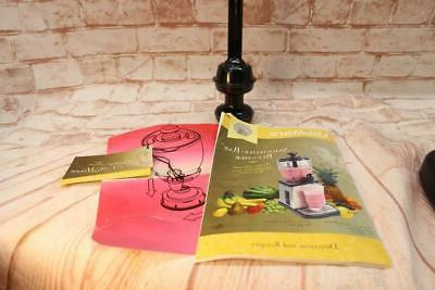 VillaWare Smoothie Smoothee Blender 5785 Yogurt Steel EXCELLENT