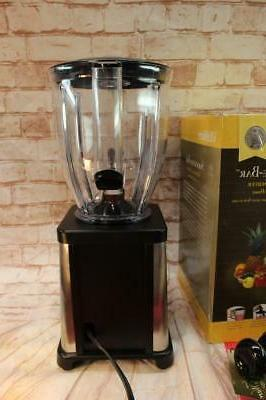 VillaWare Smoothie Smoothee Blender 5785 Stainless Steel EXCELLENT