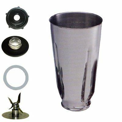 stainless steel complete blender jar