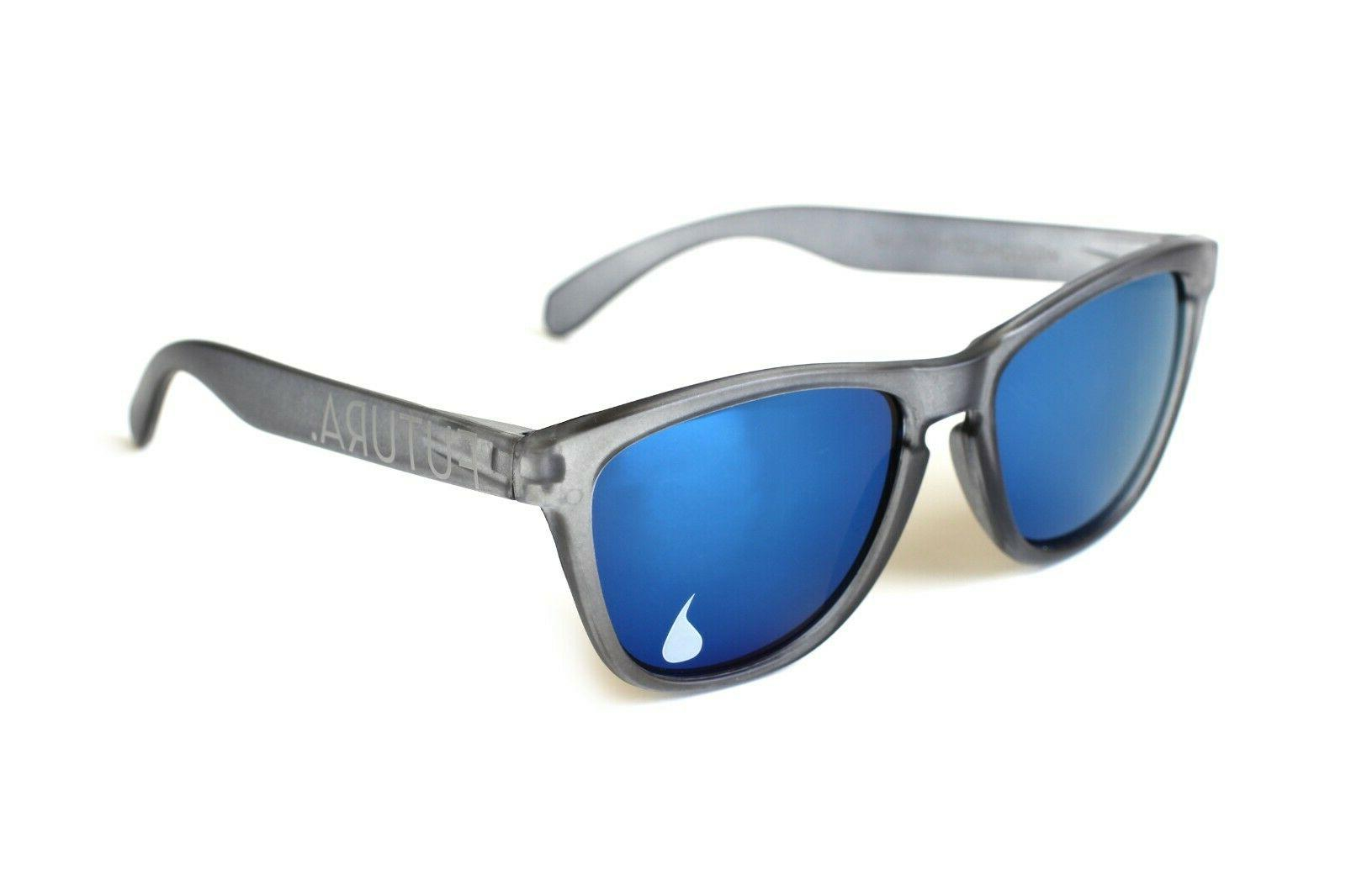 sunglasses mirrored lenses grey frames frogskins knockaround