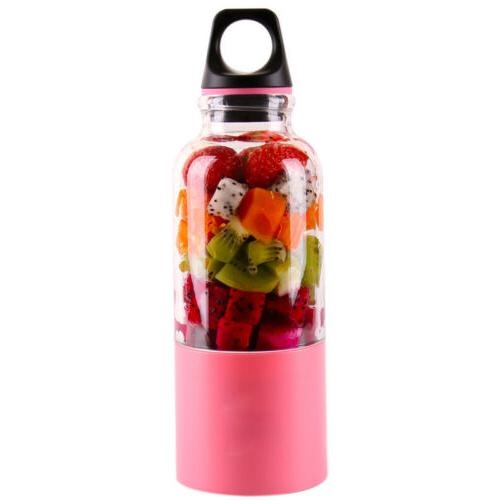 USB Portable Rechargeable Squeezers Juicer Personal Cup