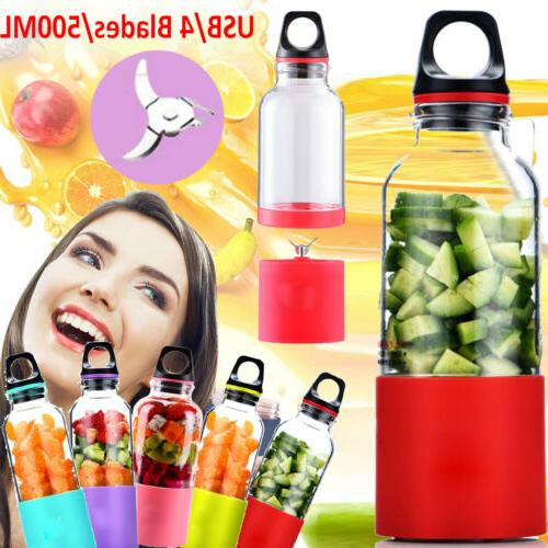 USB Rechargeable Jet Squeezers Mixer Blend Personal Cup