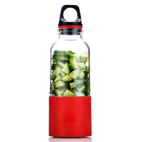 USB Portable Rechargeable Jet Squeezers Juicer Blend Personal
